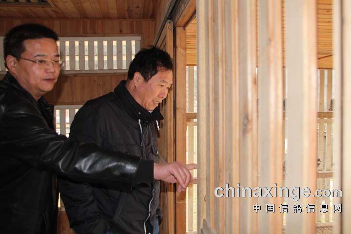 天津名家邓文敏前往忠义林参观